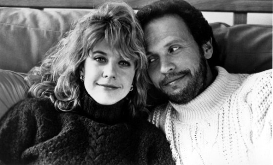 From When Harry Met Sally. A very difficult movie to watch when you are going through heartbreak.
