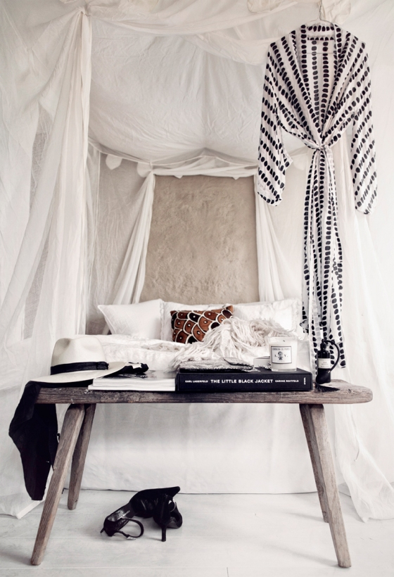Dreamy bedroom via Honeypie Living